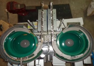 Vibratory bowl Feeder to Linear Feeder